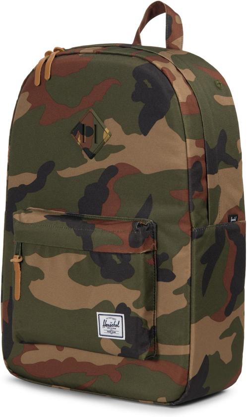 Camo Woodland Rugzak Herschel Supply Co Heritage qT77AH