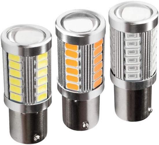 Bol Com Led Lampje Aluminium Deksel Remlicht Voor Auto 12v 2
