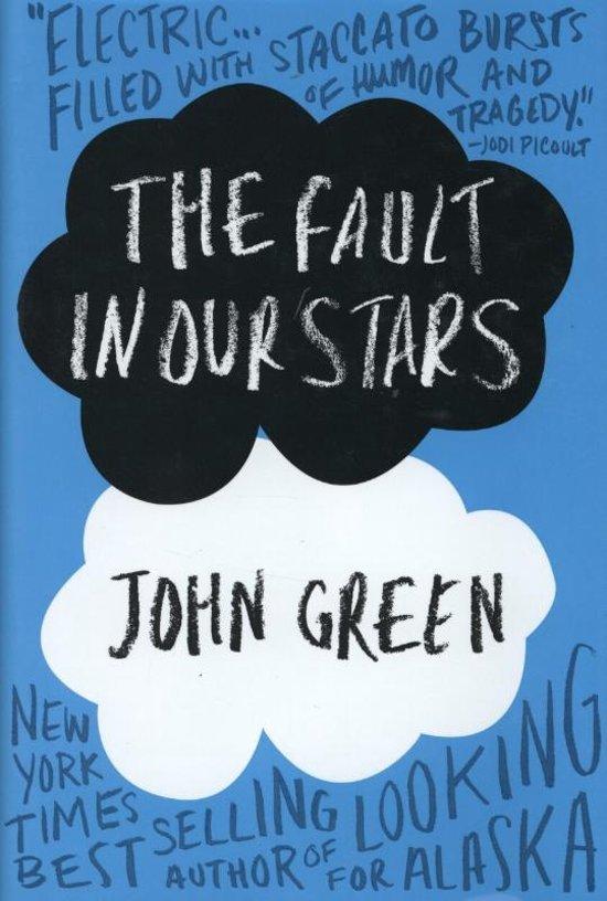 Boek cover The Fault in Our Stars van John Green (Hardcover)