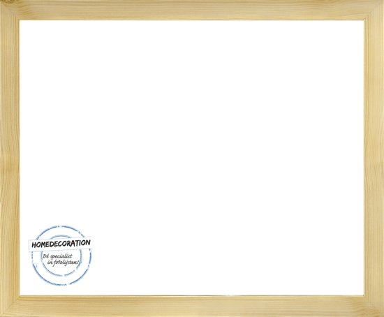 Homedecoration Misano – Fotolijst – Fotomaat – 44 x 83 cm  – Licht houtnerf
