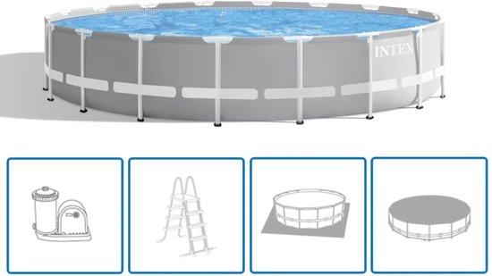 Intex Prism Frame Zwembadset rond 549x122 cm 26732GN
