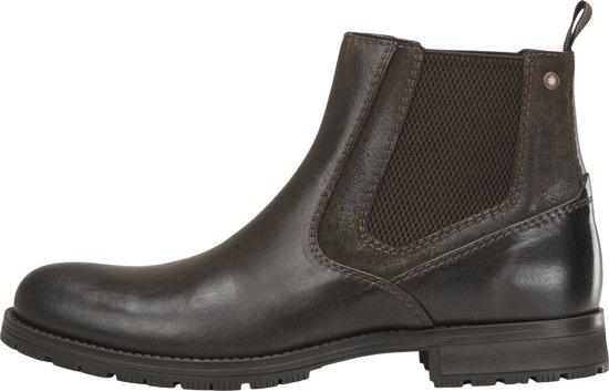 JACK&JONES Heren Chelsea Boots - Brown Stone - Maat 44
