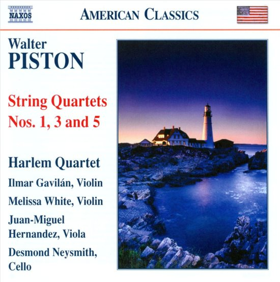 Piston: String Quartets 1,3,5