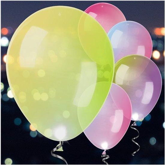 bol.com | Balloominate Ballonnen Met Led-verlichting 28 Cm 5 Stuks ...