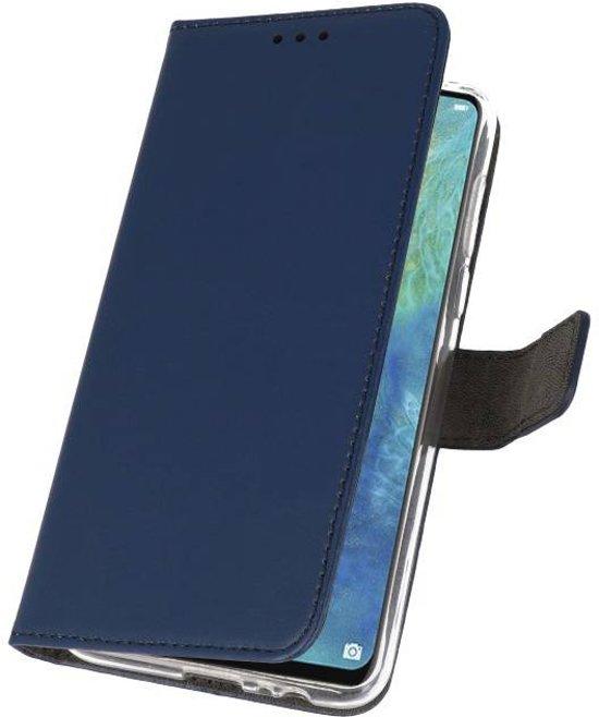 Wicked Narwal | Wallet Cases Hoesje voor Huawei Mate 20 X Navy