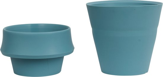 JOKJOR Fold siliconen Bloempot - Plantenpot - Arctic groen