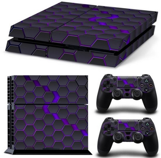 Hex Galaxy - PS4 Console Skins PlayStation Stickers