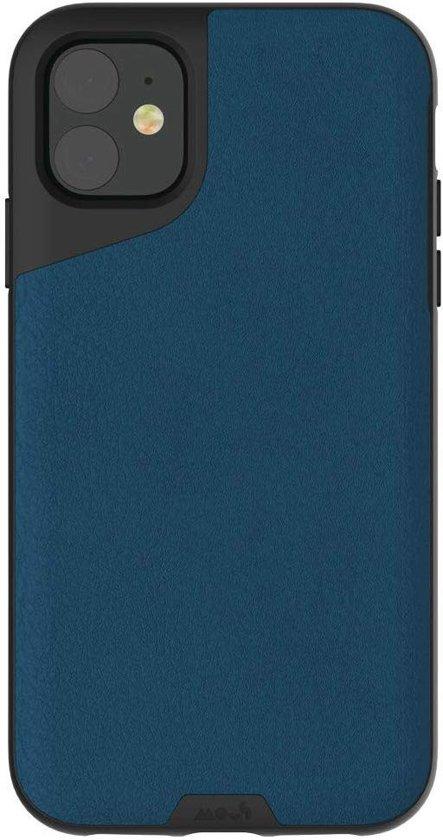 MOUS Contour Apple iPhone 11 Hoesje Blue Leather