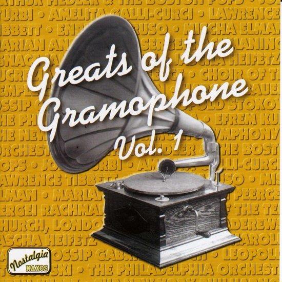 Greats Of Gramophone 1