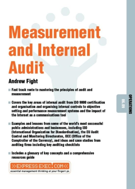 Measurement and Internal Audit