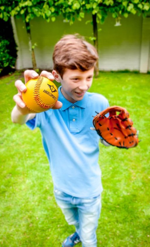 Angel Sports Honkbalhandschoen Met Bal