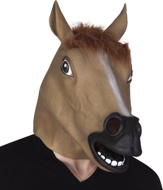 4 stuks: Masker Paard - Latex
