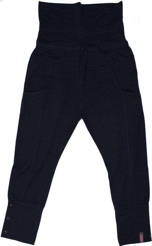 ZIEZOO- Meisjes-broek/legging  -kleur: marine - Maat 98