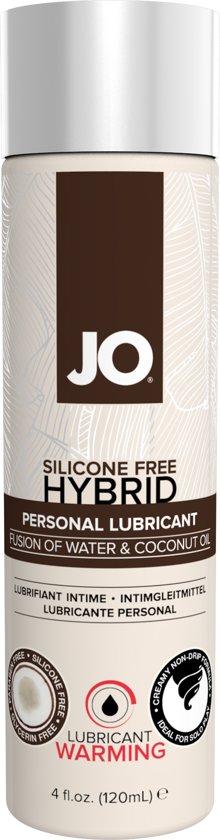 System JO Siliconenvrij Hybrid verwarmend Glijmiddel - Kokos - 120ml