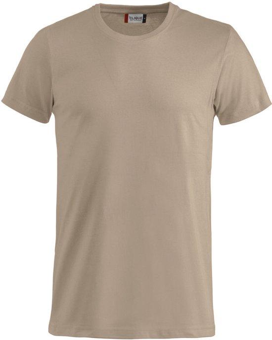 Basic-T bodyfit T-shirt 145 gr/m2 caffe latte s