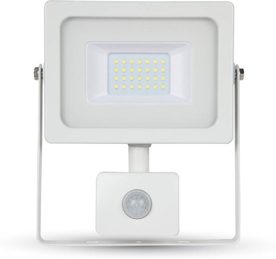 Populair bol.com   V-tac VT-4922 - LED straler met sensor - 20 Watt - 1600 DJ85