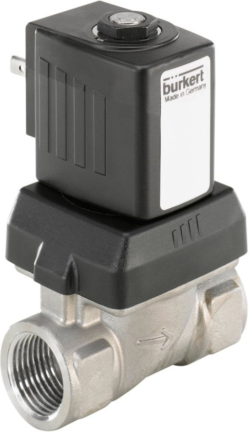 G1/2'' RVS 230VAC Vet/Olievrij Magneetventiel 6213 253522 - 253522