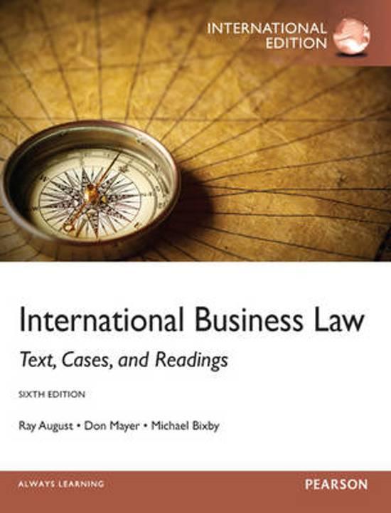 International Business Law: International Edition