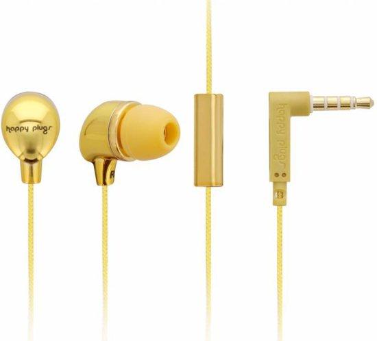 Happy Plugs In-Ear oordopjes - Goud