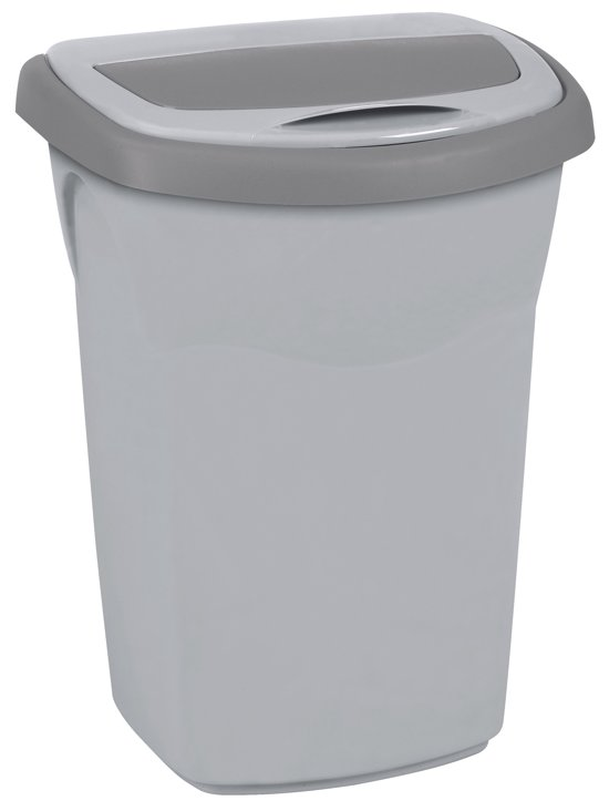 eureka afvalbak 50L steel