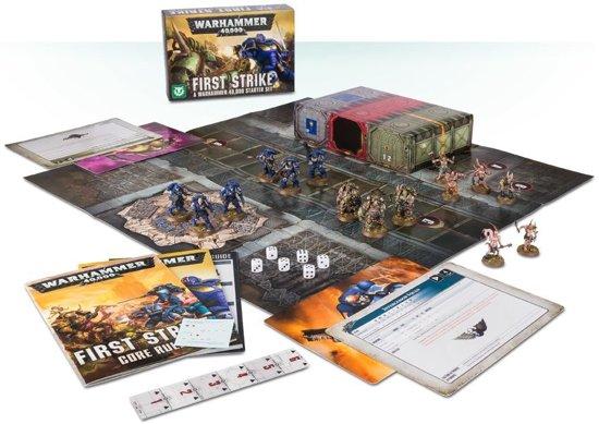 Afbeelding van Games Workshop First Strike: A Warhammer 40,000 Starter Set Kinderen & volwassenen speelgoed