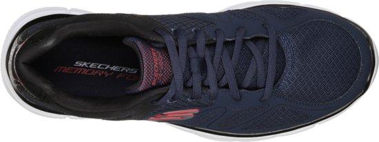 Maat zwart Point Mannen Blauw Verse rood Sneaker Heren Skechers 41 Sneakers Flash EaHwYnqp