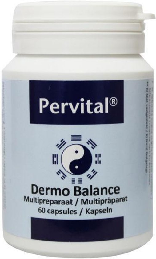 Pervital Dermo Balance Capsules 60 st