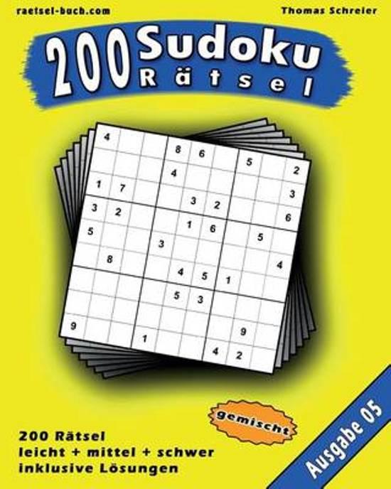 200 Gemischte Zahlen-Sudoku 05