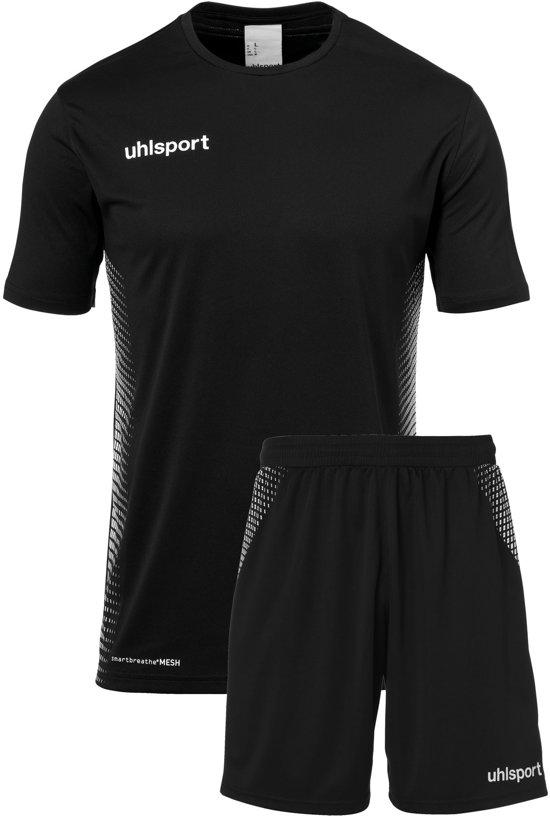 Uhlsport Score Kit SS  Sportshirt performance - Maat XXL  - Mannen - zwart/wit
