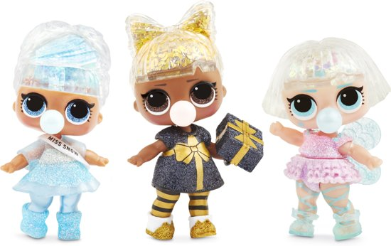 L.O.L. Surprise Glitter Globe Winter Disco - Series A - Minipop