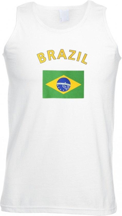 Brazilie tanktop heren L
