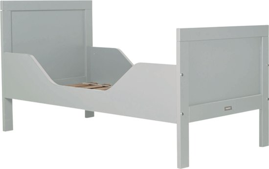 Bopita Junior Bed.Bopita Junior Bed 70 X 150 Cm Romy Pure Grey
