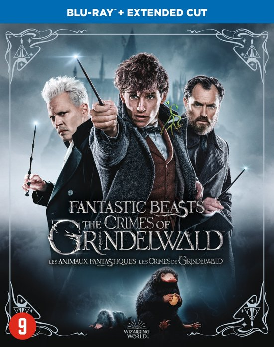 DVD cover van Fantastic Beasts: The Crimes of Grindelwald (Blu-ray) (Extended Edition)