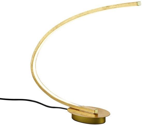 Moderne tafellamp Lou, Goud