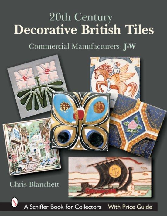 20th Century Decorative British Tiles