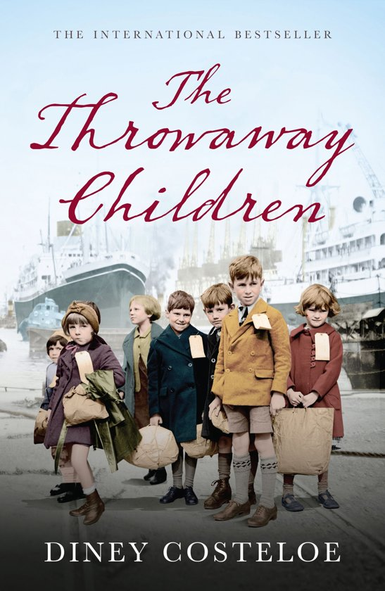 Boek cover The Throwaway Children van Diney Costeloe (Onbekend)