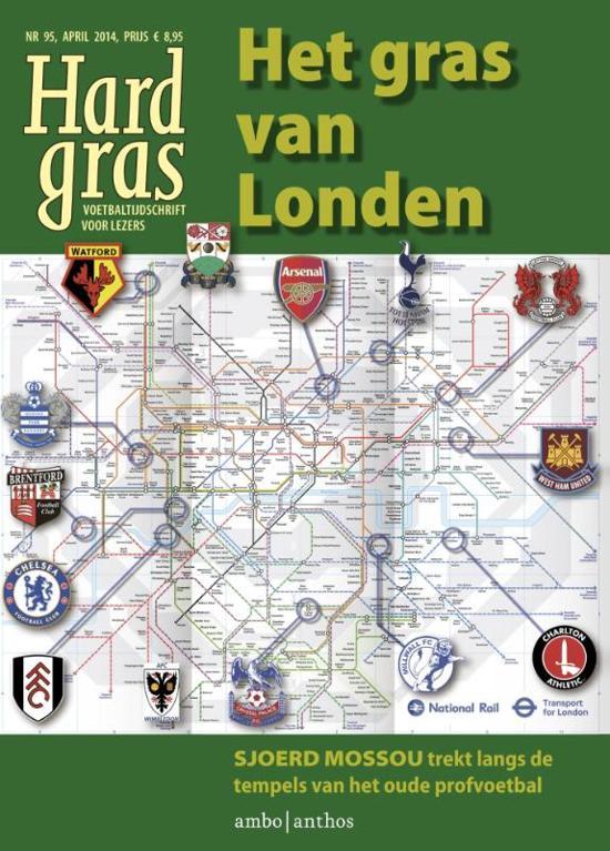 Cover van het boek 'Hard Gras 95 / april 2014' van Tijdschrift Hard Gras