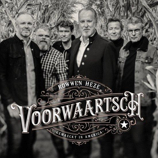 CD cover van Voorwaartsch van Rowwen Heze