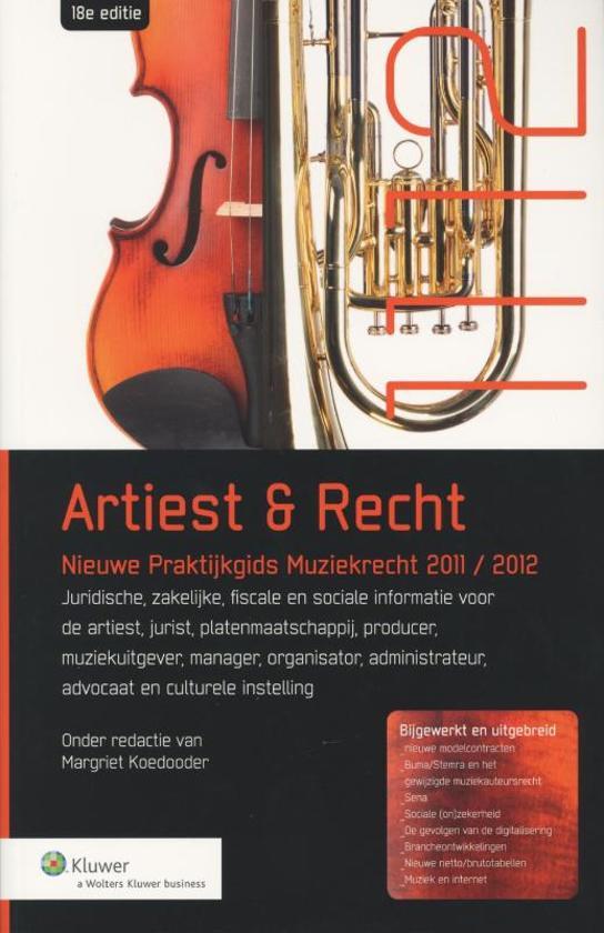 Nieuwe praktijkgids Artiest & Recht 2011/2012