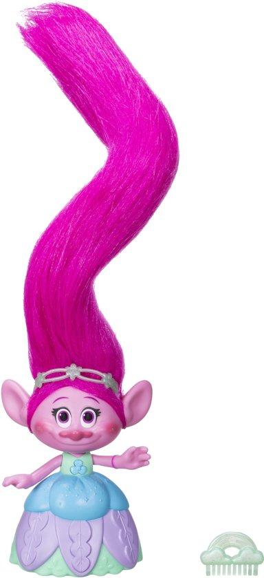 Trolls Haar in de lucht Poppy - Speelfiguur - 22 cm