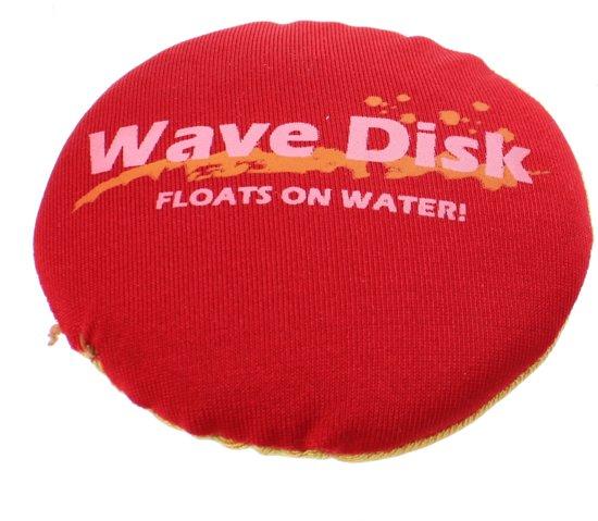 Jonotoys Wave Disk Rood/geel 7,5 Cm