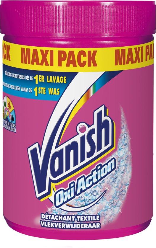 Vanish Oxi Action Maxi Pack Poeder -  Vlekkenverwijderaar -1 kg