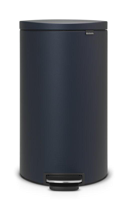 Brabantia Pedaalemmer FlatBack 30 Liter Mineral Blue