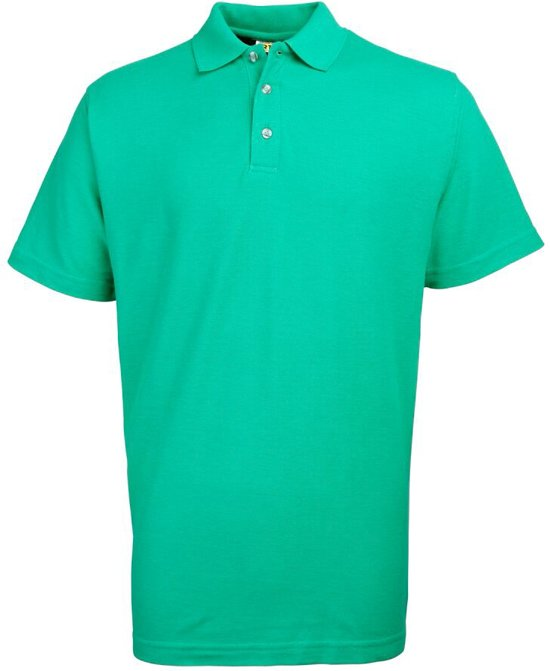 RTY Workwear Poly/cotton pique polo, Kleur Emerald Green, Maat 4XL