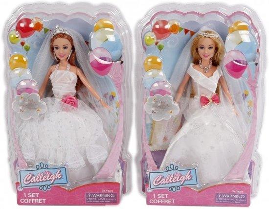 Barbie Gaat Trouwen Grote Jurk Wordt Assorti Geleverd