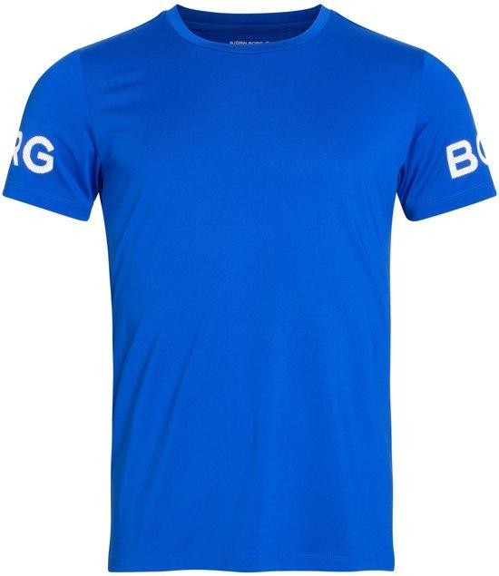 Bjorn Borg Borgtee mannen sportshirt - Blauw -  maat XL