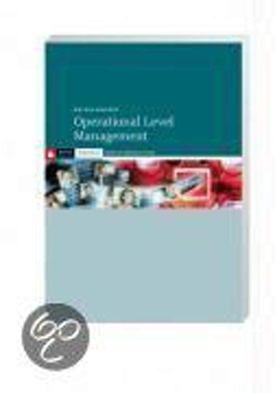 Operational Level Management
