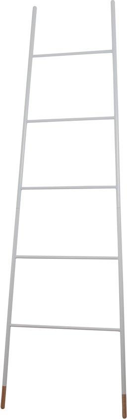 Zuiver Rack decoratieve ladder - 175 cm - Wit