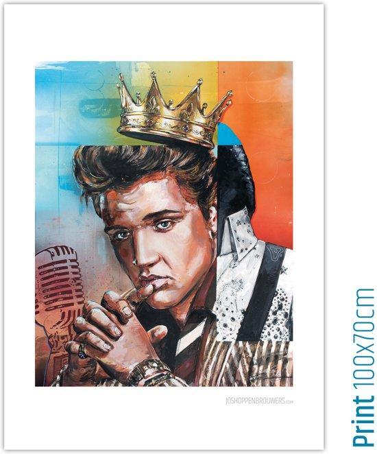 Elvis art print (70x100cm)