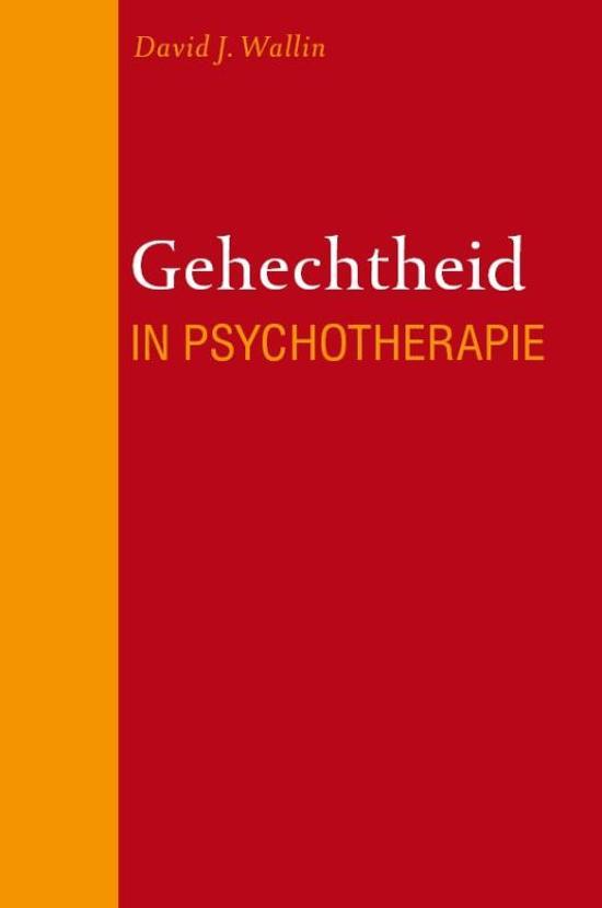 Gehechtheid in de psychotherapie